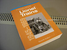 GREENSBERG'S REPAIR MANUAL LIONEL 1945-1969 train access o gauge postwar 10-8160