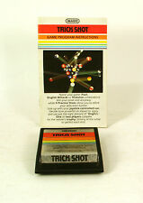 Atari 2600 game Trick Shot With Instructions Tested and Working