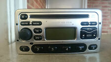 Ford Mondeo Focus Fiesta Puma 6000 CD Radio Stereo CD Player Tested Code Silver