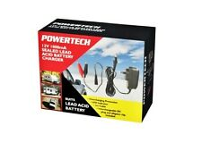 Powertech - Motorcycle 12V 1000mA Seal Lead Acid Battery Charger