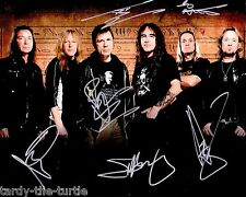 Iron Maiden #2  8 x 10 Autograph Reprint Bruce Dickinson Number of the Beast