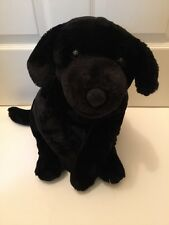 "BIG ANIMAL ALLEY BLACK LAB DOG PLUSH STUFFED TOY R US 27"" VERY CUTE"