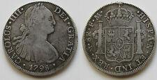 CARLOS IV , BONITOS 8 REALES DE 1797 . MEXICO . 26,7 GRAMOS . PLATA