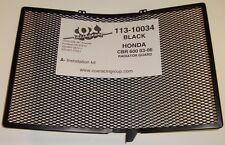 Cox Racing Rad Guard Black For Honda CBR600RR CBR 600 Carbon Fiber 2003-2006
