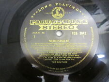 THE BEATLES PLEASE PLEASE ME LP UK 1ST STEREO BLACK GOLD 1G / 1R DICK JAMES