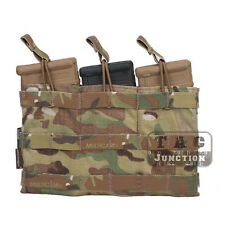 Emerson Tactical 5.56 Triple Open Top MOLLE Magazine Mag Pouch Holster Pull Tab