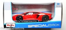 MAISTO 2011 LAMBORGHINI AVENTADOR LP700-4 1/24 ORANGE 31210OR