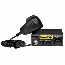 Cobra Compact 40 Channel 4W Travel CB Radio w/ RF Gain & LCD Display | 19 DX IV