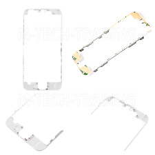 NUOVO Originale iPhone 6 BIANCO ESTERNO LCD Touch Screen Lunetta Trim + Adesivo 3m parte