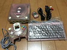 Sega DreamCast HELLO KITTY Pink Limited Console NTSC-J 0116