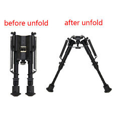 "6-9"" harris style Universal Bipods Heavy Duty 50 Degree swivel tilt-level Pivot"
