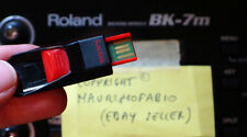 usb pen drive for Roland BK7m with 8000 styles style & karaoke midi songs BK 7m