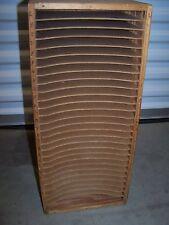 Primitive 50's. 60's sheet music organizer, shelves, filing (built-in?) unit