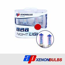H1 Super White +90% Xenon Headlight Bulbs Fits Jaguar X-Type 2.0 D