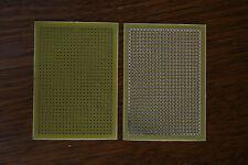 Lot de 5 PLAQUES D'ESSAIS A CONTACTS PROJECT BOARD 85 x 60mm EPOXY