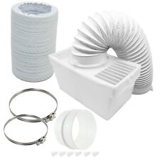 600cm Pipe Condenser Box with Extra Long Hose & Clips for CDA Tumble Dryer