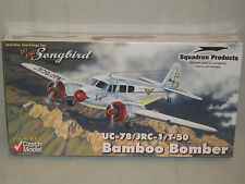 Czech Model 1/48 Scale Cessna UC-78/JRC-1/T-50 Bamboo Bomber - Factory Sealed