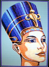 BEAUTIFUL EGYPTIAN (QUEEN) ~ NEW Counted Cross Stitch KIT (Larger Design) #ML579