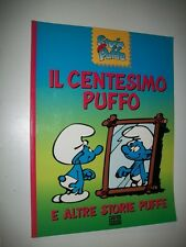 STORIE PUFFE N.11.IL CENTESIMO PUFFO.PEYO.LIBRI PER RAGAZZI MONDADORI 1993 PUFFI