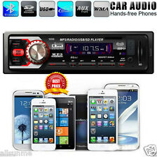 New Car Audio Stereo In Dash FM Mp3 Music Player USB SD Input Video AUX Receiver