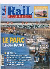 RAIL PASSION N° 56 PARC ILE DE FRANCE / CC 7100 / MULHOUSE / THIONVILLE - APACH