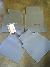 NEW OEM NISSAN SENTRA 2013-2014 GREY CARPET FLOOR MATS - 4 PC SET