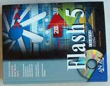LA BIBLIA DE FLASH 5 - ANAYA 2001 CON SU CD 1181 PÁGINAS TAPAS DURAS VER INDICE