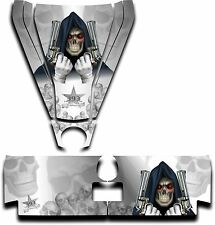 Graphic Decal Kit Canam Commander Can Am Hood Tailgate Reaper Revenge White