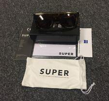 New In Box RetroSuperFuture 598 Chicano Burnt Havana Ciccio Flat Top Sunglasses