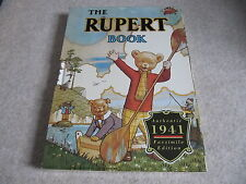 RUPERT BEAR FACSIMILIE OF 1941 *RARE* ANNUAL / BOOK