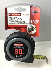 Craftsman Tape Measure 30ft Touch Lock 00945072