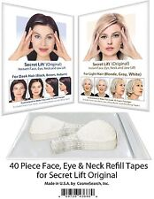 Instant Face Lift and Neck Lift Secret Lift Tapes Refill 40 Piece Set! Facelift