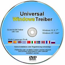 Universal PC, Notebook & Laptop Treiber Software für Windows 10, 8, 7, Vista, XP
