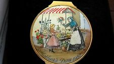 1980 MOTHER'S DAY HALCYON DAYS BILSTON & BATTERSEA ENAMELED HINGED BOX