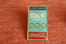05844 PIN'S PINS JO OLYMPIC WORLDGAMES COCA COLA 1932 LAKE PLACID