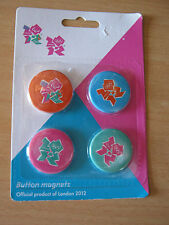2012 london olympic games button magnets