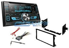 NEW KENWOOD CAR STEREO W/ INSTALL KIT & BLUETOOTH & USB & AUX INPUTS & SIRIUS XM