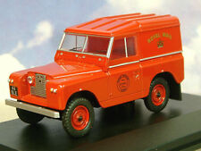 OXFORD 1/43 LAND ROVER SERIES 2 II S2 SWB HARD BACK ROYAL MAIL LAIRG 43LR2S001