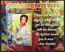 ST. VINCENT GRENADINES   2016 JIMI HENDRIX SOUVENIR SHEET  MINT NH