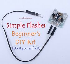 E52 Simple 2 LED 5mm Flasher Do it Yourself DIY Kit Flash Light Blinker PCB Part