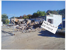 Photograph of JOHNNY'S STUDEBAKER Garage demolished 2013 Gardner Ma Mass