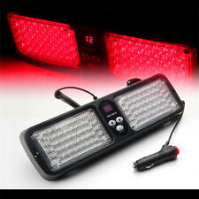 1Pc Red 86LED Strobe Light Car Emergency Beacon Flash Bright Warning Lamp 12v