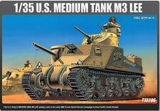 Academy 1/35 Scale Plastic Model Kit M3 LEE US Medium Tank 13206 NIB