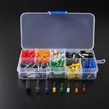 400Pcs Wire Crimp Connector Cord Pin End Terminal Ferrules Kit Set with Box