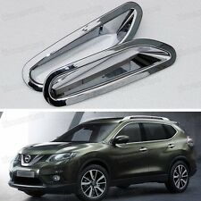 For Nissan Rouge X-Trail 2014 2015 Rear Bumper Fog Lamp Light Cover Trim Molding