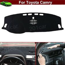 1x DashMat Dash Carpet Dash Cover Dashboard Mat Cover For Toyota Camry 2012-2017