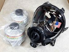 SGE 400/3 Gas Mask / Respirator  with 2 Mestel filters  CBRN & NBC Protection