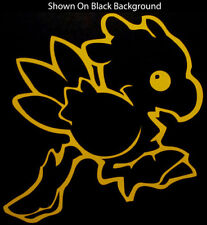 BABY CHOCOBO Final Fantasy Vinyl Decal - Yellow Sticker