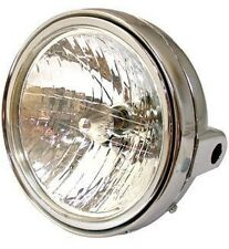 Universal Chrome 7 inch Headlight 12v 25/25w Motorcycle
