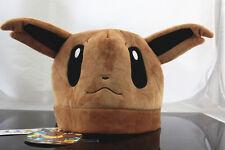 New Nintendo Pokemon Eevee Evoli Plush Hat Great Gift Cosplay